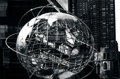 Columbus Circle in Manhattan New York Stock Photos