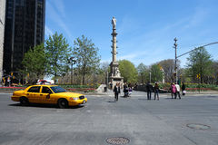 Columbus Circle Royalty Free Stock Photo