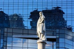Columbus Circle in New York Stock Images