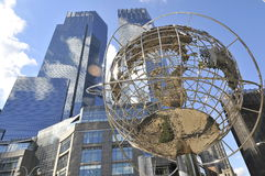 Columbus circle. In New York Stock Images