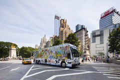 Columbus Circle in New York, editorial Royalty Free Stock Photography