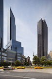Columbus Circle in New York, editorial Stock Image