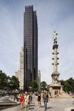 Columbus Circle in New York, editorial Royalty Free Stock Photo