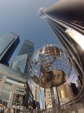 Columbus Circle, NY Imagem de Stock Royalty Free