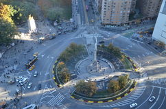 Columbus Circle in NYC, Manhattan Royalty Free Stock Photos