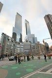 Columbus Circle in NYC, USA Stock Images