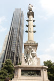 Columbus circle Stock Photography