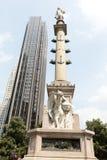 Columbus circle Stock Photography