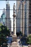 Columbus cirkel Royaltyfri Bild