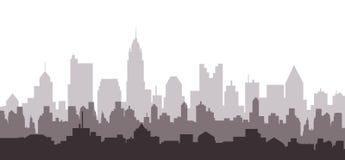 Columbus City Skyline - Vector stock illustration