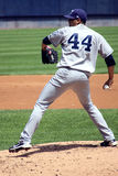 The Columbus Clippers pitcher Jeanmar Gomez Stock Image
