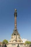 Columbus Column, Barcelona Spain Royalty Free Stock Photography