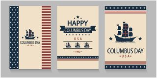 Columbus Day Photo stock
