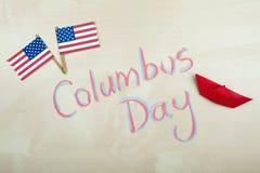 Columbus Day Foto de archivo libre de regalías