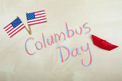 Columbus Day Photo libre de droits