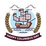 Columbus Day Imagens de Stock