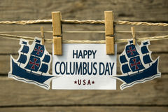 Columbus Day Image stock