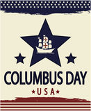 Columbus Day Libre Illustration