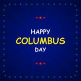 Columbus Day on abstract background. Vector. Illustration Stock Images
