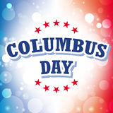 Columbus day. American background illustration Stock Photography