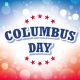 Columbus day. American background illustration Royalty Free Stock Photos