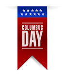 Columbus day banner sign illustration design Royalty Free Stock Photography