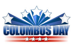 Columbus day illustration design Royalty Free Stock Photography