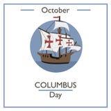 Columbus Day, October Stock Photo