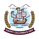 Columbus day. Stock Images