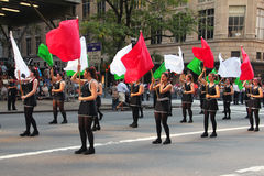 Columbus Day Parade Stock Image