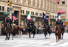 Columbus Day Parade Stock Photo
