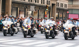 Columbus Day Parade Royalty Free Stock Photo
