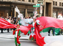 Columbus Day Parade Royalty Free Stock Photos