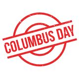 Columbus Day rubber stamp Stock Photos