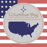Columbus Day vektor royaltyfri illustrationer
