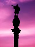 Columbus-Denkmal stockfoto