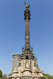 Columbus-Denkmal, Barcelona Lizenzfreie Stockfotos