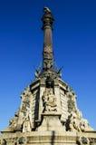 Columbus-Denkmal Barcelona Spanien lizenzfreie stockbilder