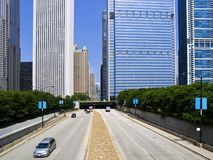 Columbus Drive, Chicago Royalty Free Stock Image