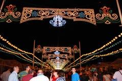 Columbus Festival in spain. Traditional Columbus Festival in Huelva, Andalusia, Spain Stock Photo