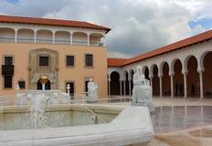 Columbus fountain , Ralli Museum in Caesarea, Isra Stock Photos