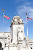 Columbus Fountain Union Station Washington dc Royalty Free Stock Photography