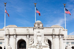 Columbus Fountain Union Station Washington dc Royalty Free Stock Photos