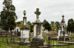 Historic Linwood Cemetery in Columbus Georgia USA royalty free stock image