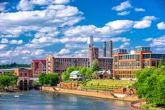 Columbus, Georgia, USA. Downtown skyline stock image