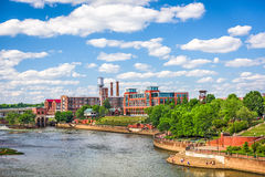 Columbus, Georgia, USA. Downtown skyline royalty free stock photography