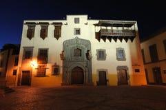 Columbus House in Las Palmas de Gran Canaria Stock Images