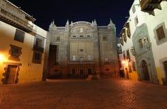 Columbus House in Las Palmas de Gran Canaria Royalty Free Stock Photos