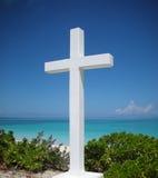Columbus-Kreuz durch Ocean Stockbild