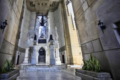 Columbus Lighthouse Landmark en Santo Domingo Photographie stock